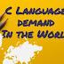 C language demand in the world