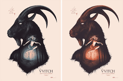 The VVitch Movie Poster Screen Print by Sara Deck