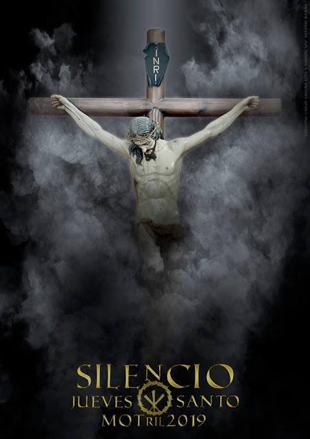Cartel de la Cofradía del Santísimo Cristo de la Buena Muerte (Silencio), de Motril para el 2019.