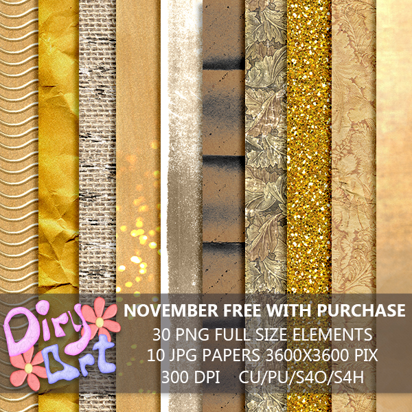 * News in store & November free with purchase *