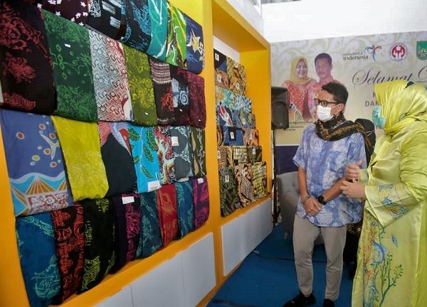 Setelah Melihat Batik Batam dan Pulau Putri, Ini Kata Menparekraf RI