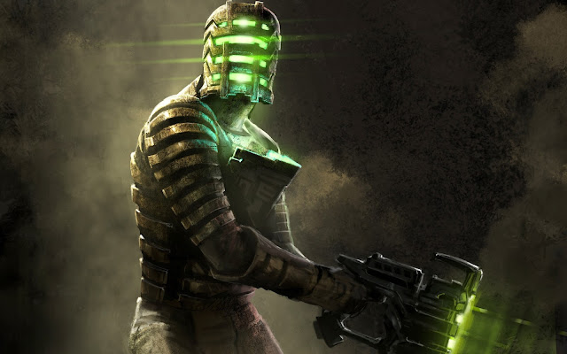 desktop wallpaper dead space art work