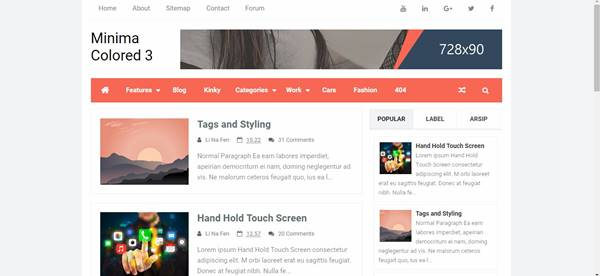 50 Free Full SEO Responsive And Surpassing Blogger Templates (Themes ...