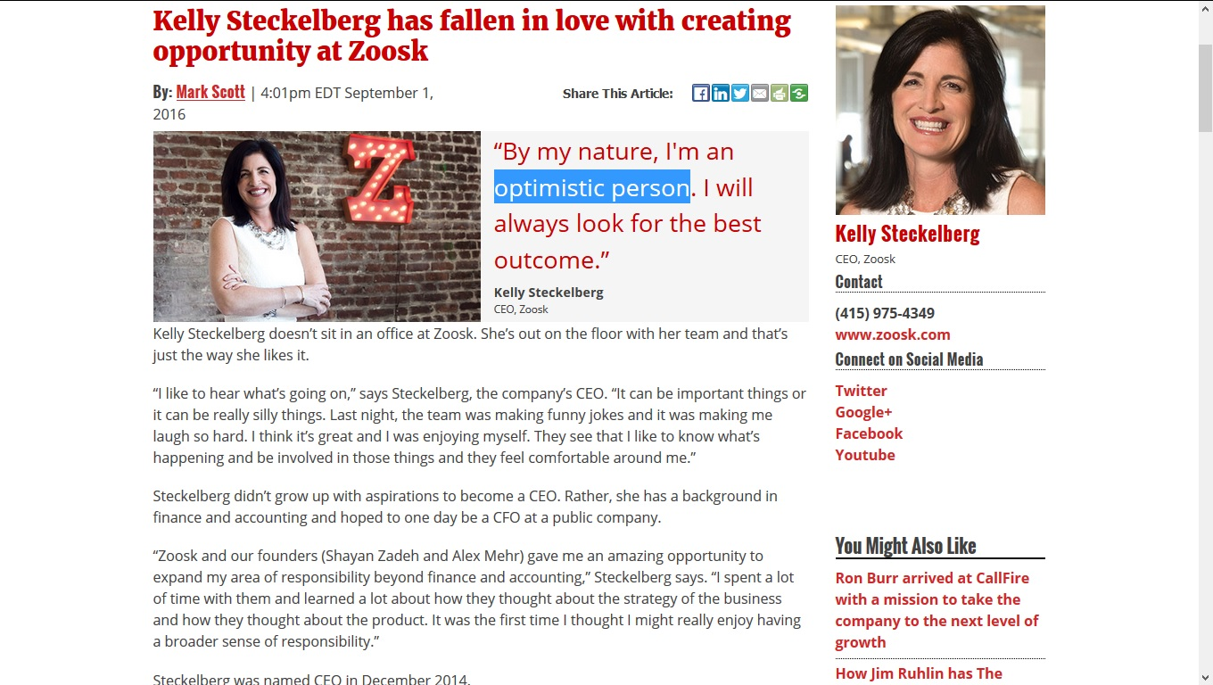 Breaking the online dating sound barrier: Is Zoosk a