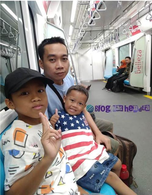 Pengalaman Naik MRT Jakarta - Blog Mas Hendra