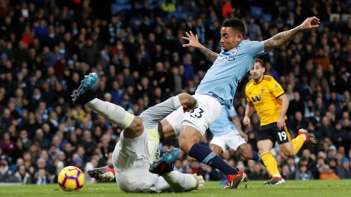 نتيجة مباراة مانشستر سيتي وولفرهامبتون بتاريخ 06-10-2019 الدوري الانجليزي
