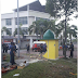 Foto Berhala Yang Menyerupai Kubah Masjid Dirobohkan