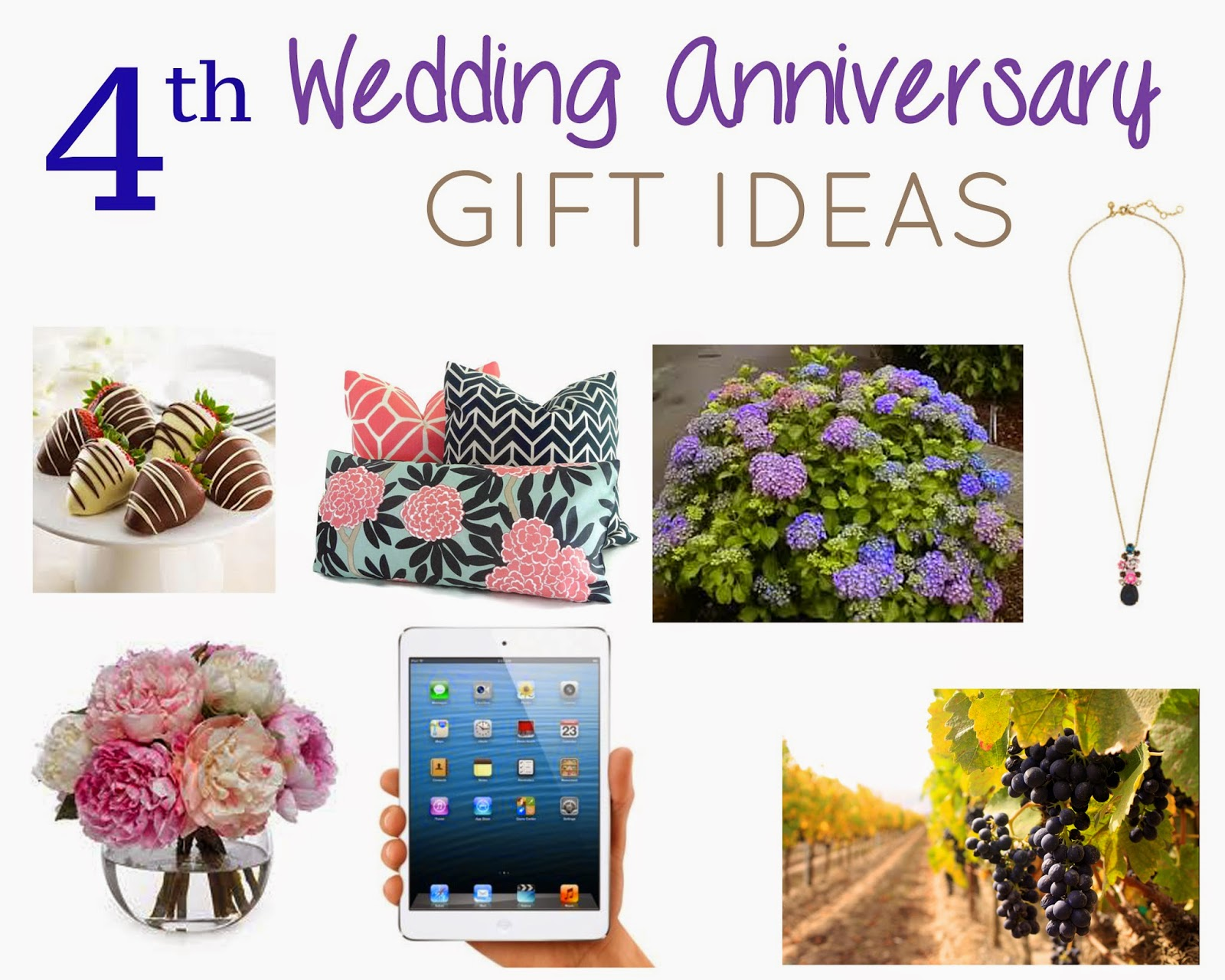 The Adventure Starts Here 4th Wedding Anniversary Gift Guide