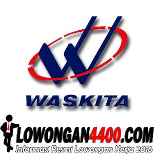 Lowongan PT Waskita Karya (Persero) Tingkat D3 September 2016