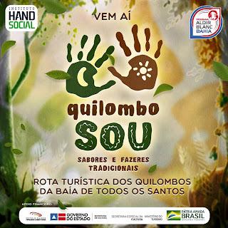 Vem aí o Quilombo Sou - Sabores e Fazeres Tradicionais