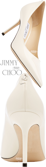 Jimmy Choo Love Neutral Leather Pumps #brilliantluxury