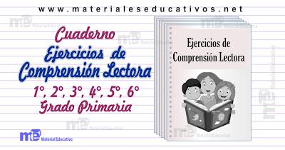 Ejercicios de Comprensión Lectora 1°, 2°, 3°, 4°, 5°, 6 ...