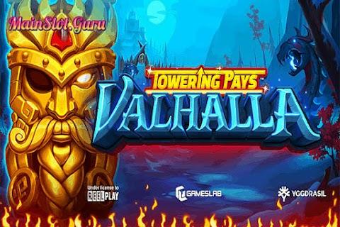 Main Gratis Slot Towering Pays Valhalla (Yggdrasil)   96.00% RTP