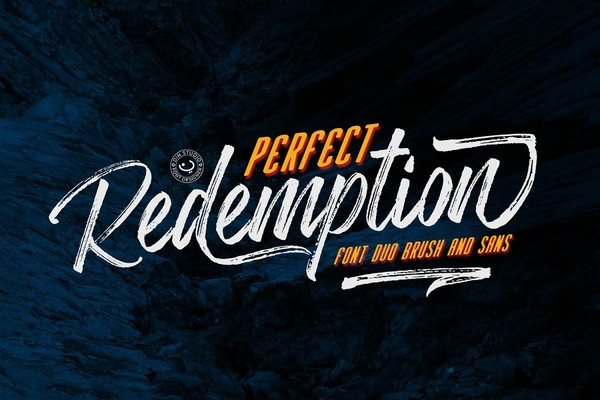 Perfect Redemption Font Duo Plus Extras