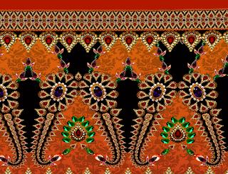 Jwellery Textile Border Design 2811
