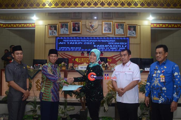 Wagub Lampung Ingatkan Pembangunan Sesuai Aspirasi Rakyat