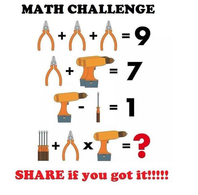 Coba Kamu Hitung Hasil Math Challenge Ini, Banyak yang Jawab 10 Benar Gak ya?