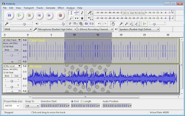 تحميل برنامج مسجل الصوت الاحترافي مجانا Download Audacity