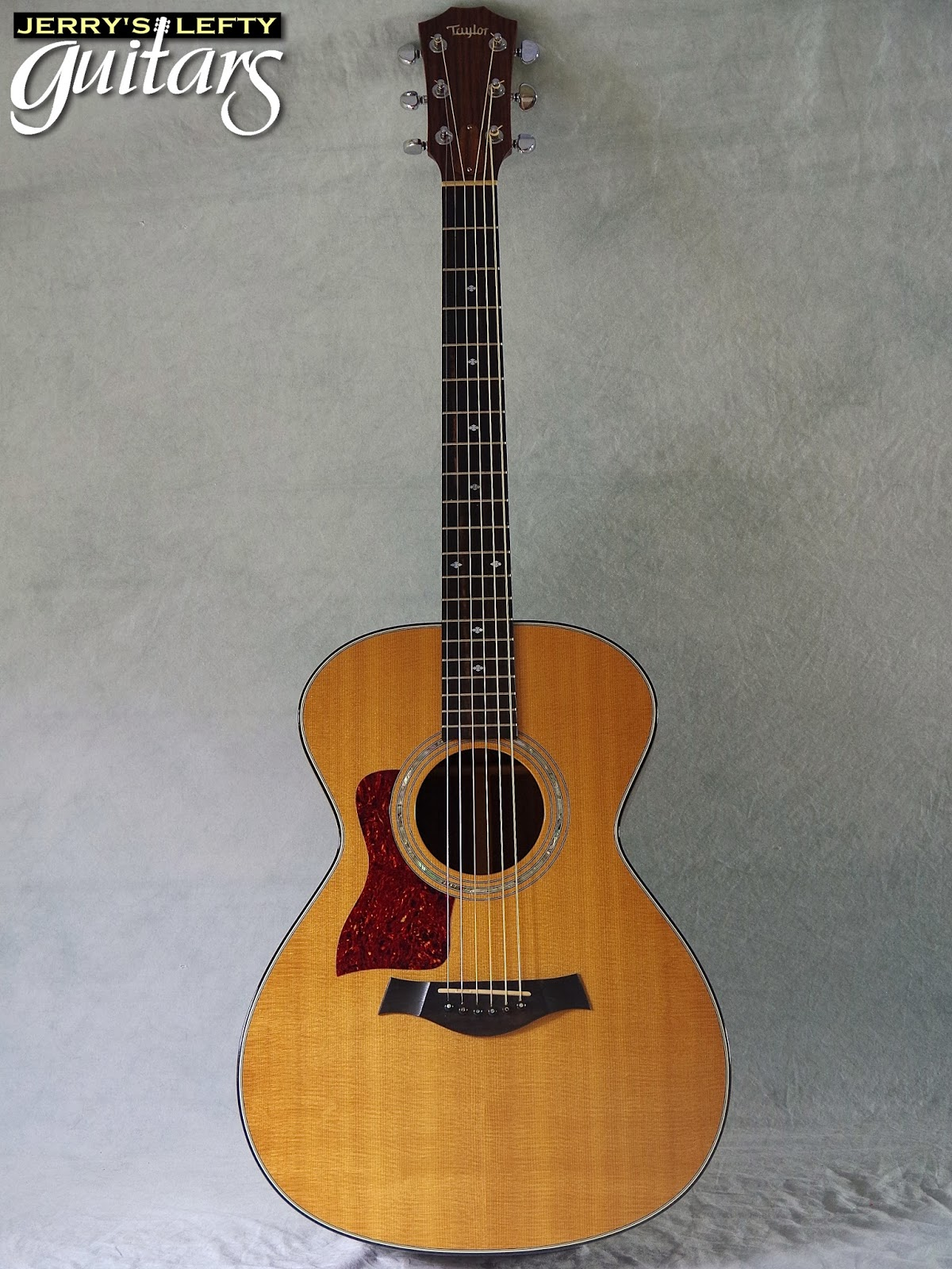 jerry 39 s lefty guitars newest guitar arrivals updated weekly 1994 taylor 512 used left handed. Black Bedroom Furniture Sets. Home Design Ideas