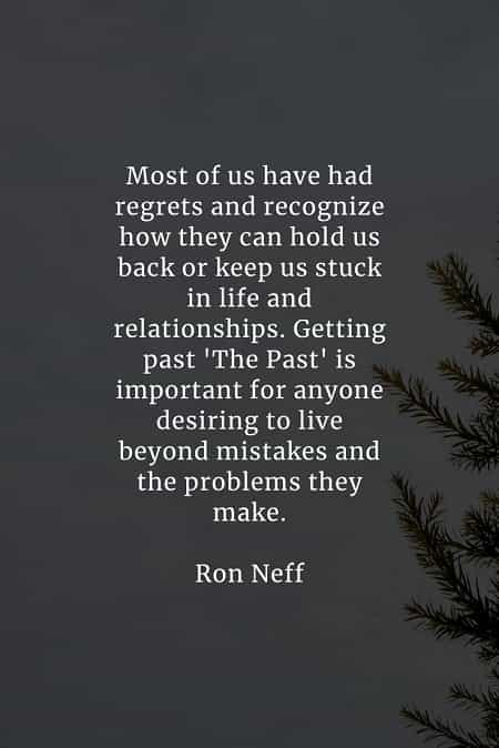 Quotes about regrets in relationships