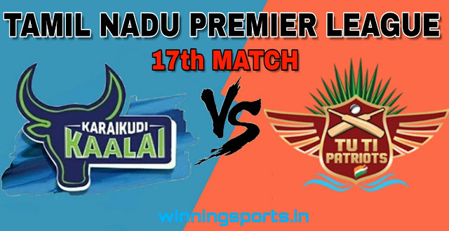 Dream11 team for KAR vs TUT 17th Match | Fantasy cricket tips | Playing 11 | TNPL dream11 Team | today match prediction |