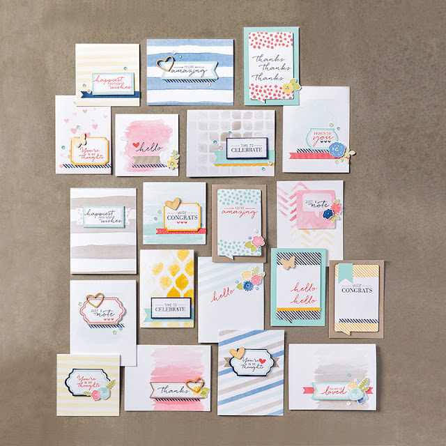 Watercolor Wishes All-Inclusive Card Kit Stampin' Up!