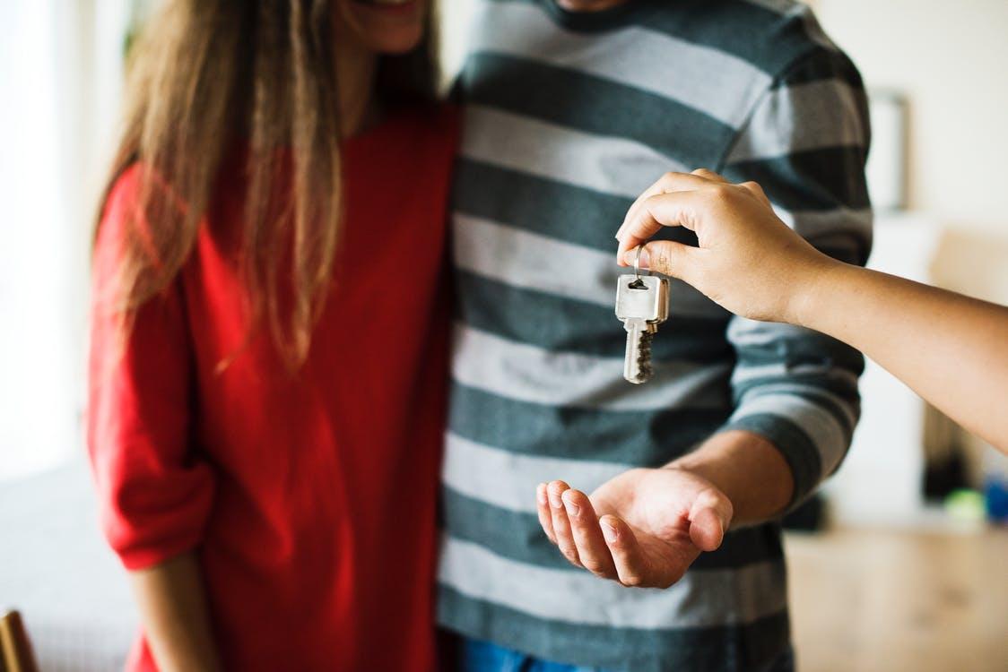 move into a house