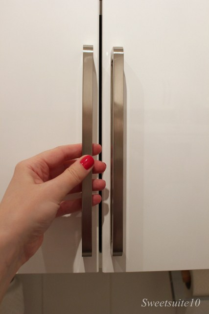 New Spann handles