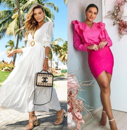 Looks inspiração Natal 2020, Bianca Petry, Tammyle Oliveira