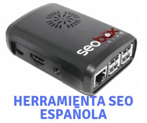 SEOBOX es una herramienta SEO que utiliza un dispositivo.