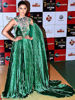 Urvashi Rautela om Green Walk the Red Carpet of Zee Awards 2017i ~  Exclusive Galleries 039.jpg