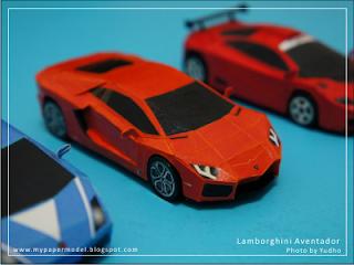 Lamborghini Paper Template - 0425