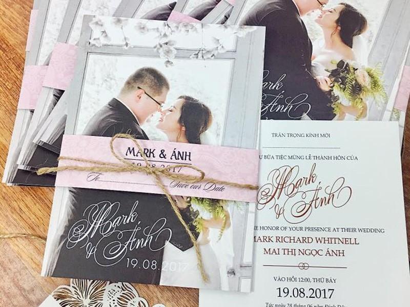 Dịch vụ in thiệp cưới tại Đà Nẵng