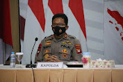 Kapolda Kalbar Pimpin Anev Pelaksanaan PPKM Darurat COVID-19