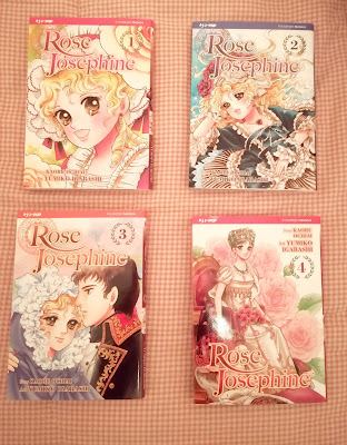Risultati immagini per rose josephine manga trama
