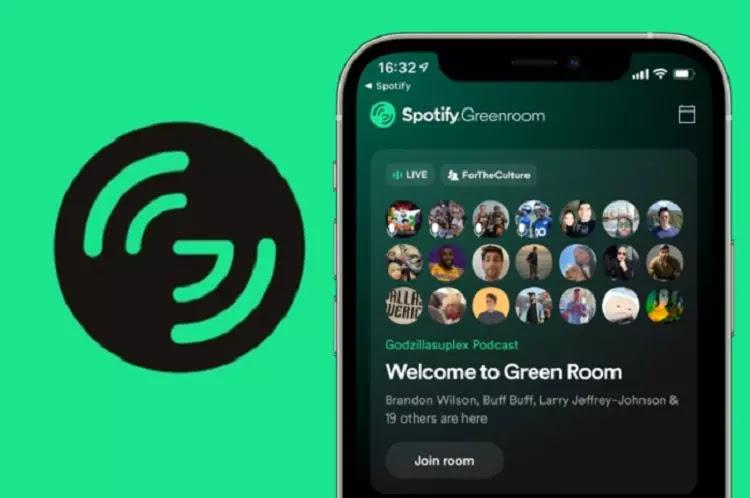 Spotify Luncurkan Greenroom, Aplikasi Livestreaming Voice Chat Pesaing Clubhouse dan Twitter Spaces