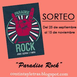 "SORTEO ""Paradise Rock"""
