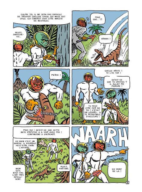 Anunnaki de Vicente Montalba aux editions Bang. Ediciones page 6