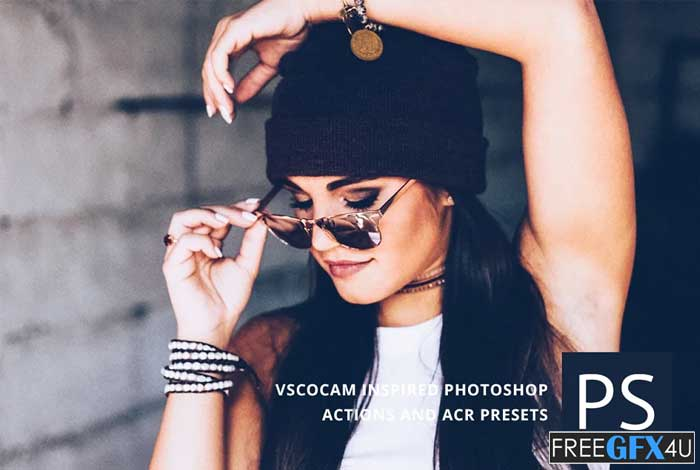 VSCOcam inspired Photoshop Actions