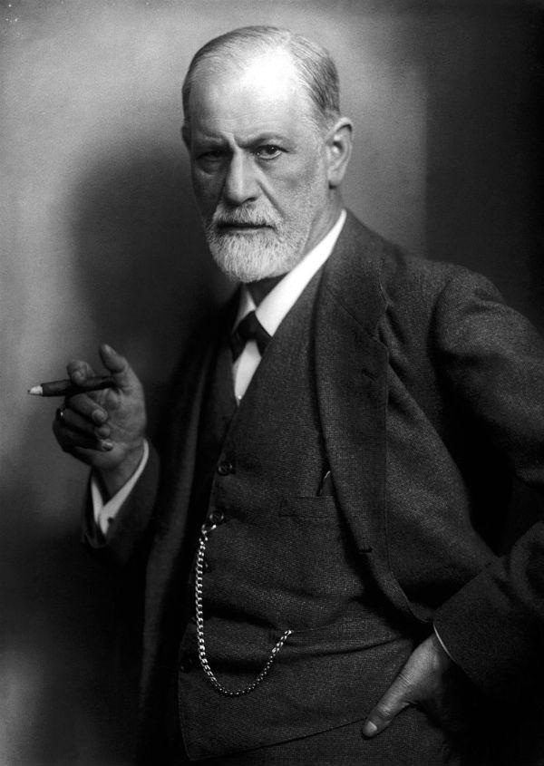 Sigmund Freud Max Halberstadt 1921