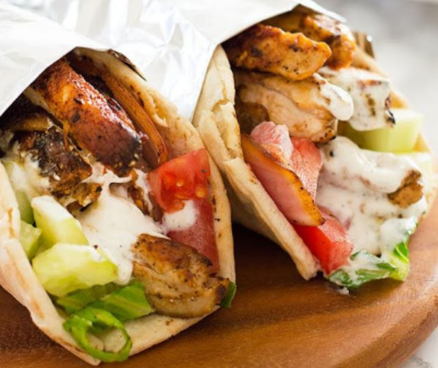Easy Chicken Shawarma Recipe With Yogurt Sauce