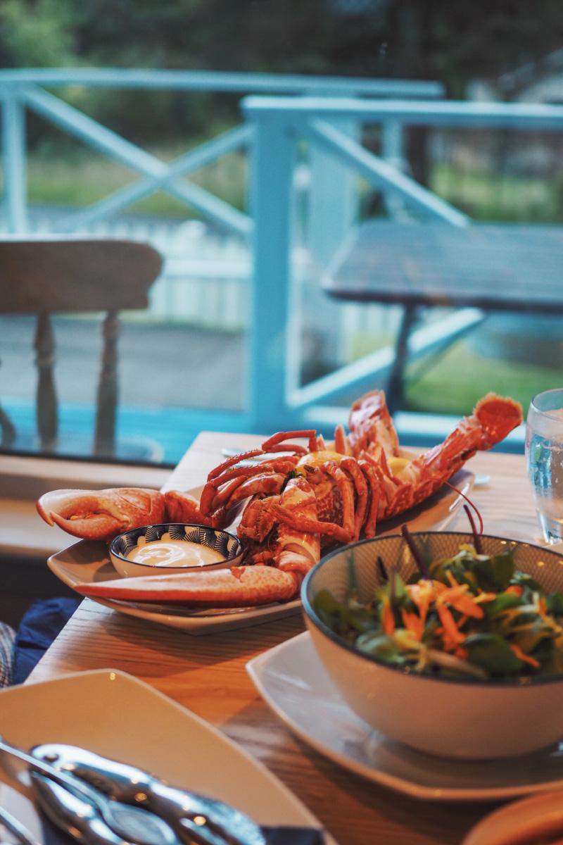 Kishorn Seafood, restaurant de fruits de mer près d'Applecross