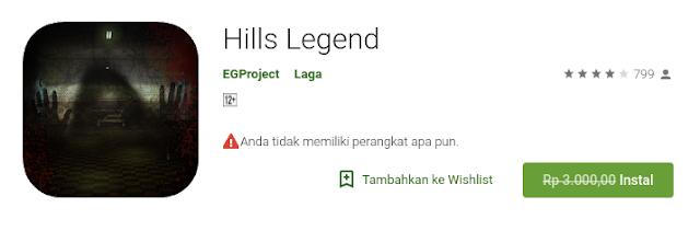 Hills Legend (Free sampai 21 Agustus)
