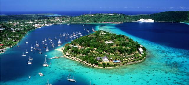 Kryssning till Vanuatu och Nya Kalcedonien