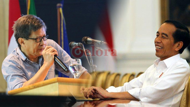 Jokowi Ditantang Debat Terbuka dengan Rocky Gerung
