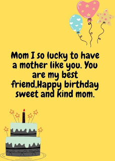 best birthday wishes for mom