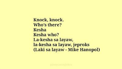 Kesha Knock knock jokes tagalog