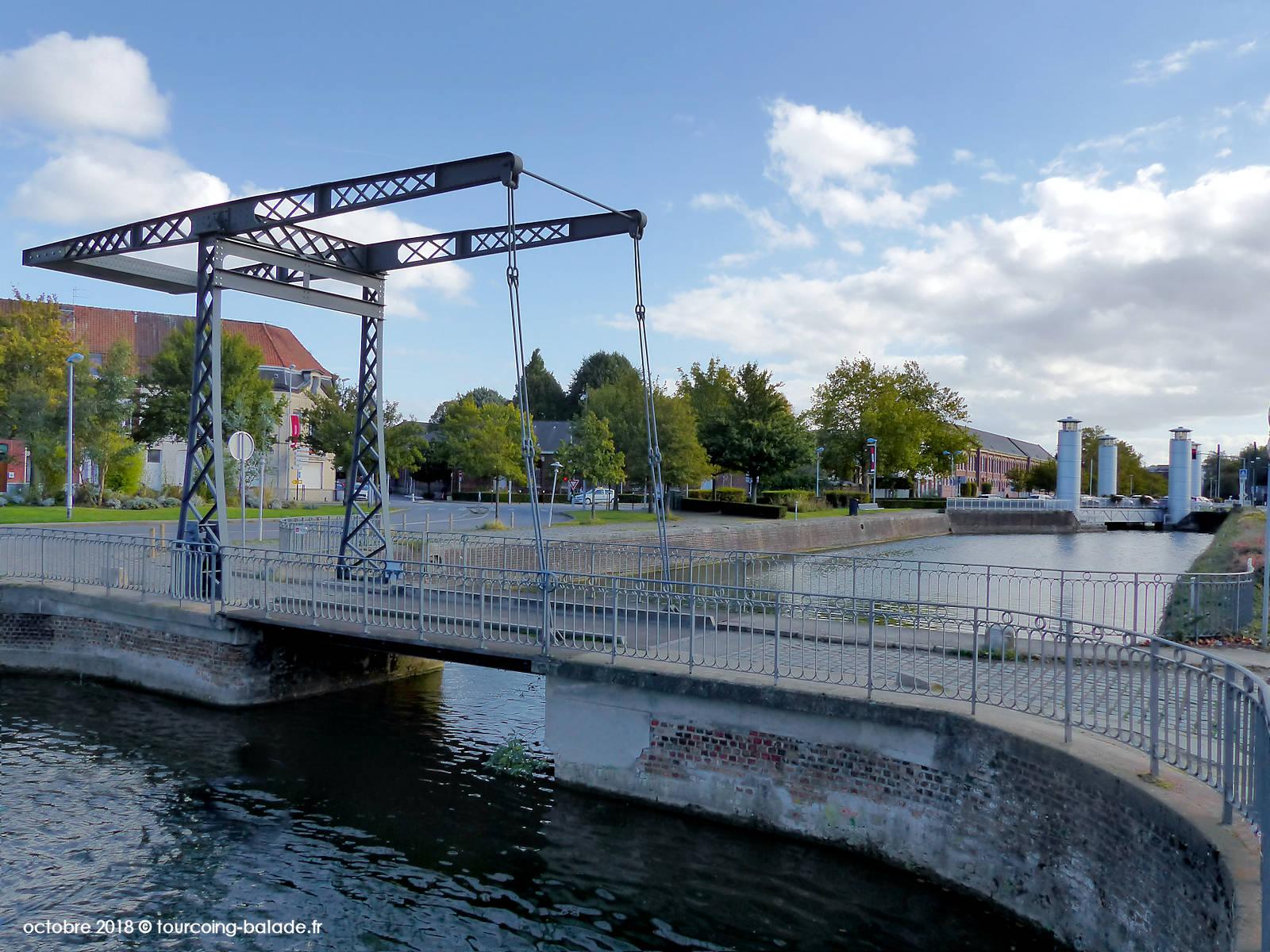 Pont de l'Espierre et Hydraulique, Tourcoing 2018