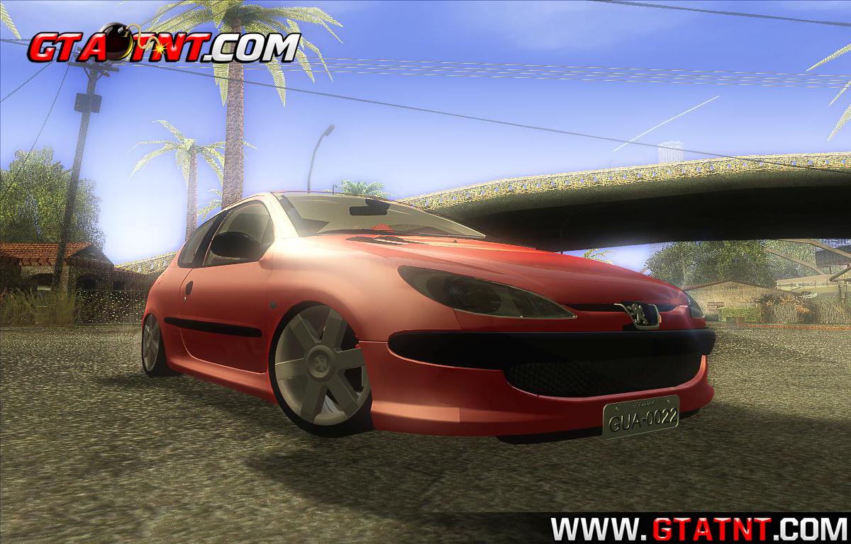 GTA SA - Peugeot 206 | GTA TNT | Mods Para GTA