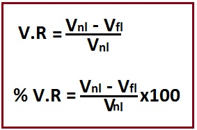 Voltage Regulation In Hindi